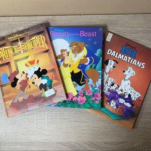 Walt Disney's bundle of 3 children's books